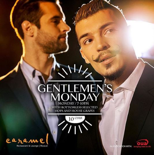 Gentleman's Monday @ Caramel