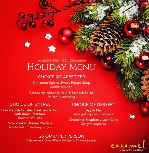 Time to think about booking those holiday and end-of-the-year parties!  Call us now for reservations! 2206.6668